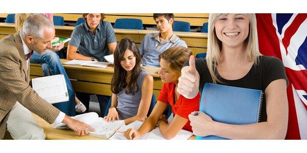 Semestrální kurz AJ nebo přípravu na maturitu z AJ