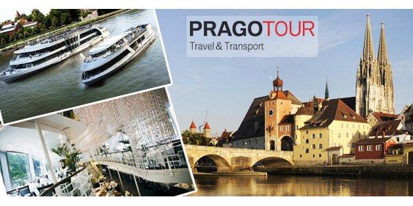 Regensburg a křišťálové lodě. Unikátní plavba křišťálovou lodí do chrámu…