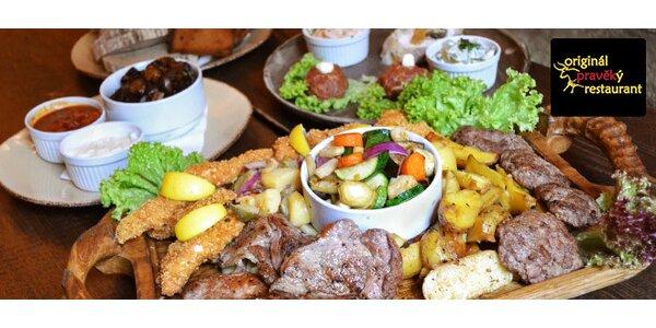 Obří hostina až pro 6 osob v pravěkém restaurantu