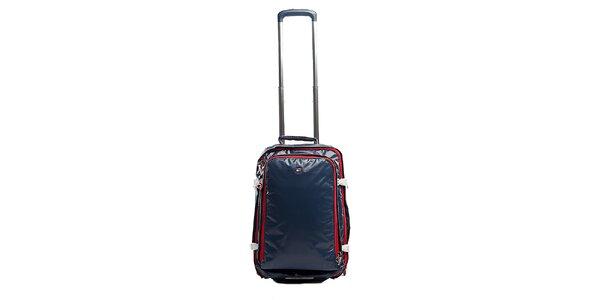 Malý modrý kufr s červenými zipy Tommy Hilfiger