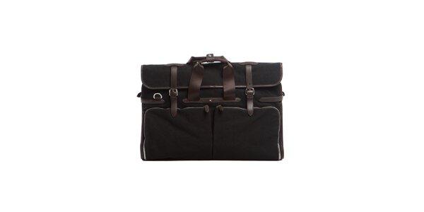 Černá obleková taška Tommy Hilfiger