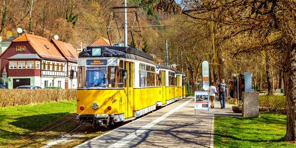Výlet vlakem do Bad Schandau a lázně Toskana