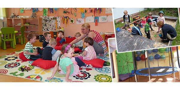 Miniškolka Krteček pro děti od 2 let přímo v centru Liberce