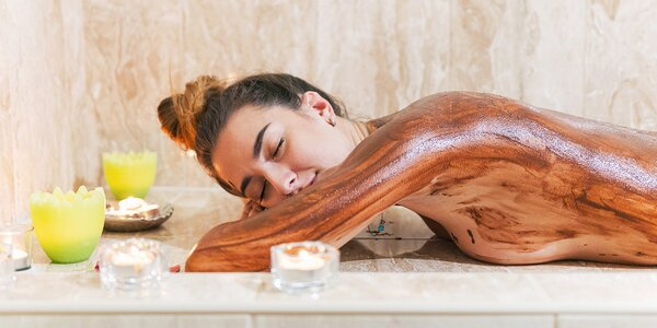 Čokoládový nebo parafínový zábal i se spa masáží