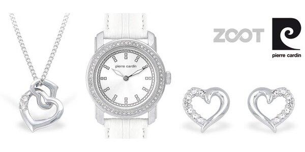 Sada šperků a hodinek Pierre Cardin