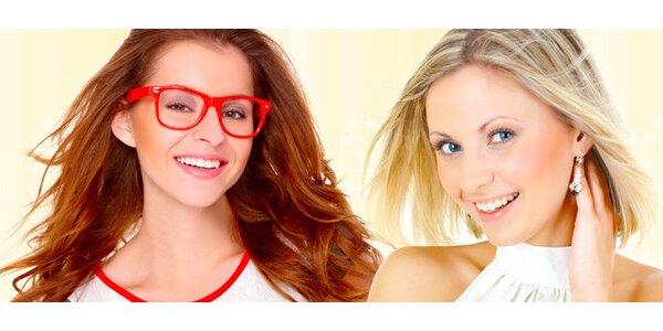 Moderní dámský střih včetně melíru nebo barvení