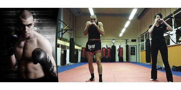 Kickbox - Váš první trénink s osobním trenérem