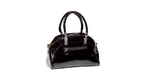 Dámská černá lakovaná kabelka Missing Johnny