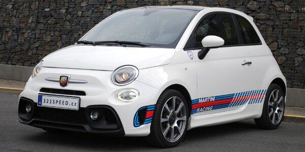 Fiat 500 Abarth: zapůjčení na 1, 3 či 7 dní