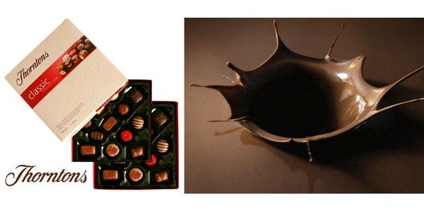 Sladkých 139 Kč za delikatesní bonboniéru značky Thorntons se slevou 43%