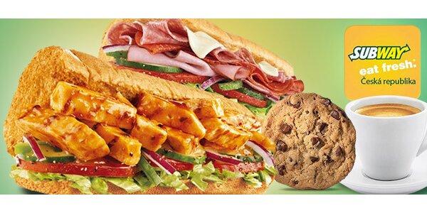 Sendviče, cookies a další dobroty ze Subway
