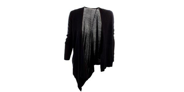 Dámský černý asymetrický svetr Next