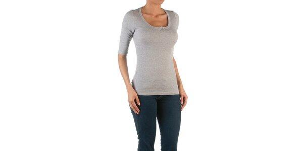 Dámské šedé tričko se 3/4 rukávy Womens Secret