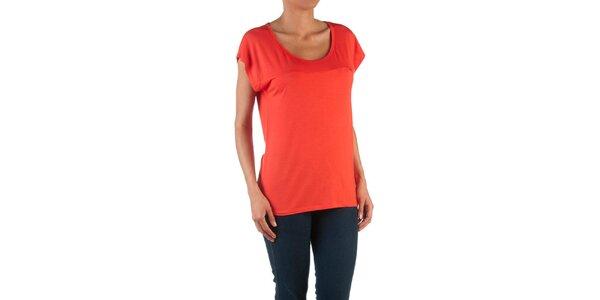 Dámské červené basic tričko Womens Secret