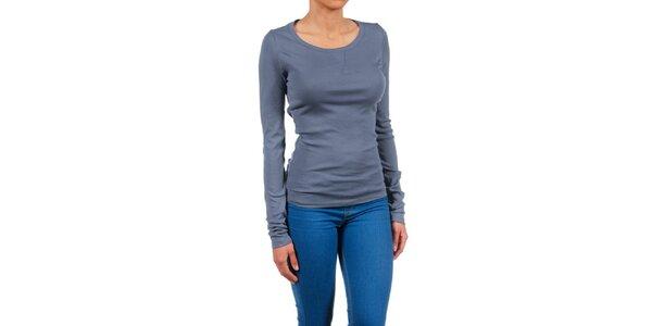Dámské modro-šedé basic tričko Womens Secret