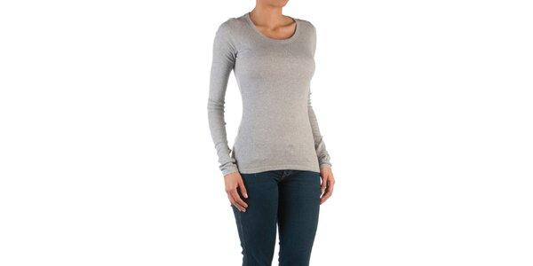 Dámské světle šedé basic tričko Womens Secret