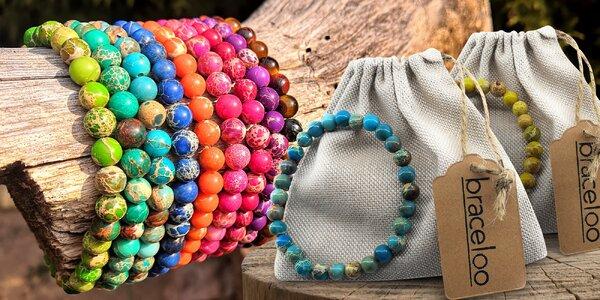 Krásný doplněk: náramky z přírodních kamenů