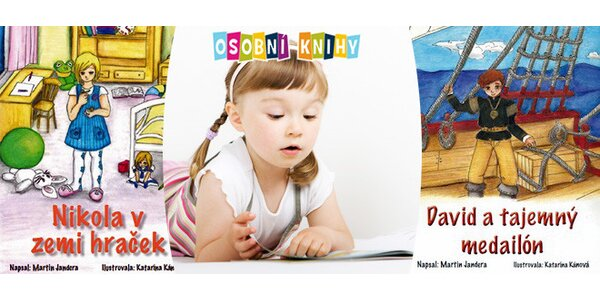 Dětská knížka šitá na míru - Vaše dítě bude hrdinou dobrodružného příběhu