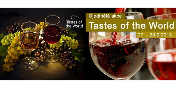 Vstupenky na Tastes of the World