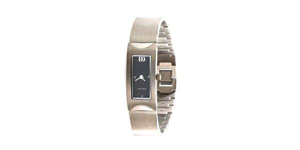 Dámské ocelově šedé hodinky Danish Design