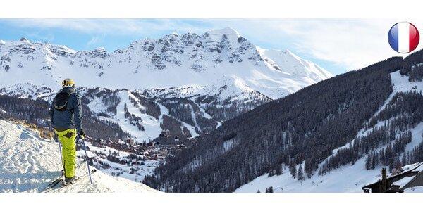 6denní lyžařský zájezd do Francie včetně skipasu a wellness