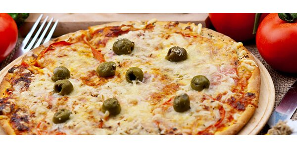 Zajděte na pizzu. Čerstvá a přímo z pece!
