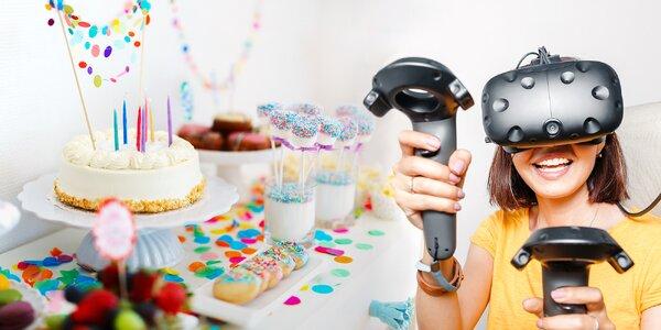 Dětská narozeninová oslava ve virtuální realitě