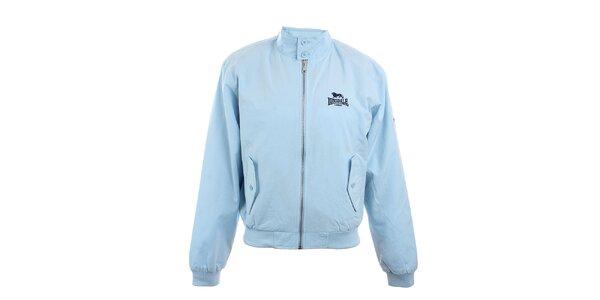Pánská světle modrá bunda Lonsdale