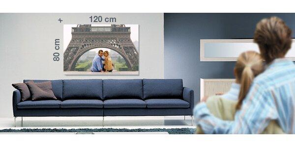 Tisk na fotoplátno velikosti 120x80 cm nebo 150x100 cm
