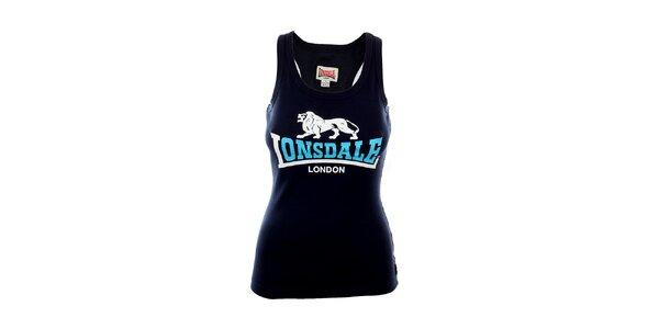 Dámské tmavě modré tílko s potiskem Lonsdale