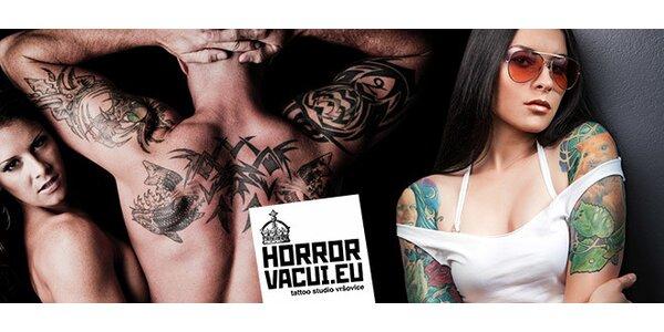 Tetování ve známém ateliéru Horror Vacui
