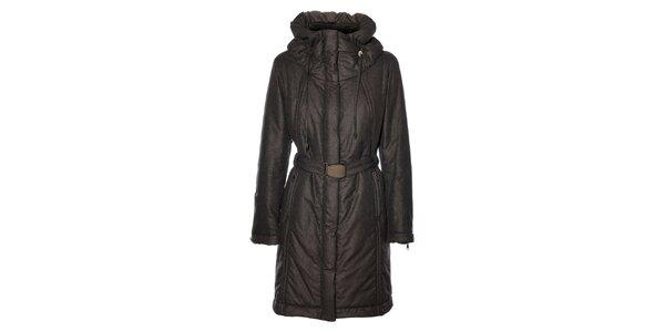 Dámský tmavě šedý kabát Pietro Filipi