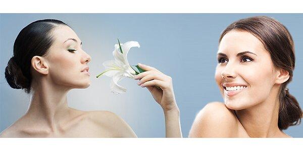 Luxusní kosmetické služby dle vlastního výběru