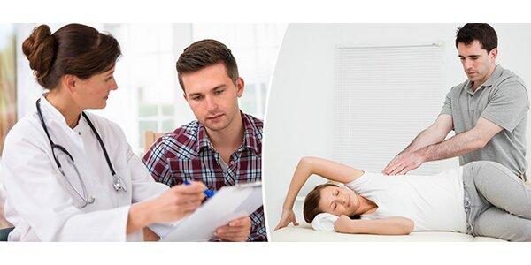 Počítačová diagnostika svalů s následnou relaxační terapií