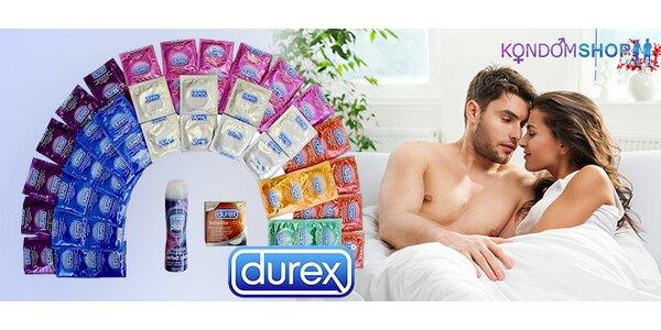 Nabité balíčky kondomů Durex, Primeros či Pasante