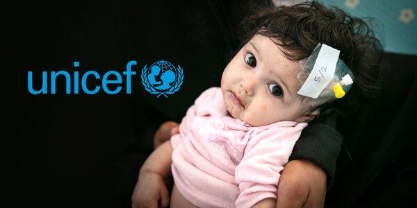 Pomozte s UNICEF strádajícím dětem v Jemenu