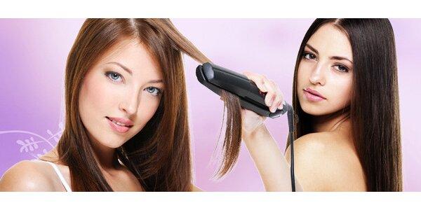 Žehlička na vlasy s iontovou úpravou