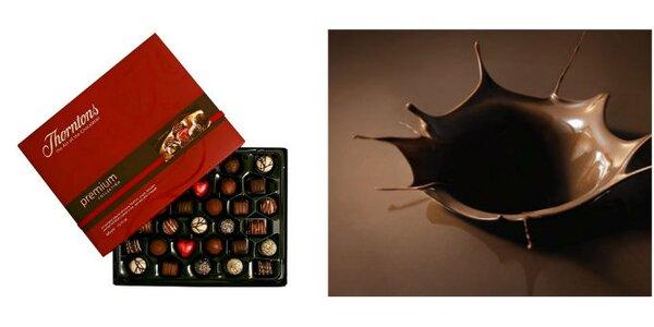 249 Kč za luxusní bonboniéru značky Thorntons v hodnotě 430 Kč. SLEVA 42%
