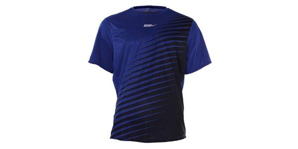Pánské tmavě modré tričko Nike s potiskem