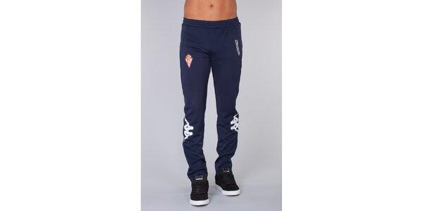 Pánské tmavě modré sportovní kalhoty Kappa