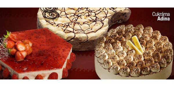 Hříšně dobré dorty z Cukrárny Adina