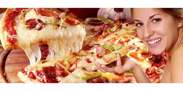 DVĚ pizzy, těstoviny nebo gnocchi dle vlastního výběru
