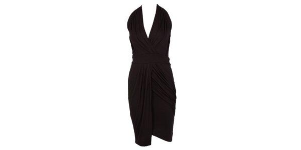 Dámské černé glamorous šaty CeMe London