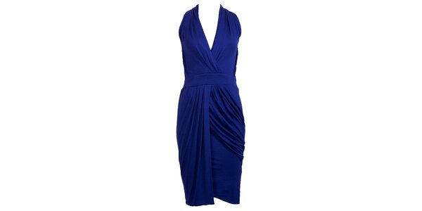 Dámské kobaltově modré glamorous šaty CeMe London