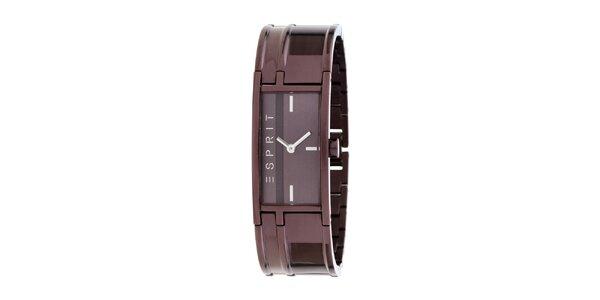 Dámské fialové náramkové hodinky Esprit