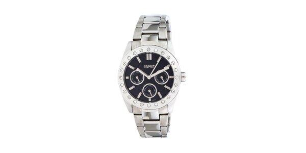 Dámské ocelové hodinky Esprit s kamínky