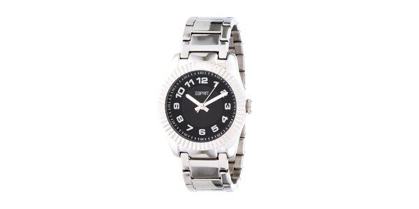 Dámské stříbrné ocelové hodinky Esprit s kovovým řemínkem