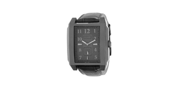 Pánské kovově šedé analogové hodinky Esprit
