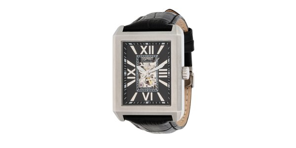 Pánské ocelové hranaté hodinky Esprit