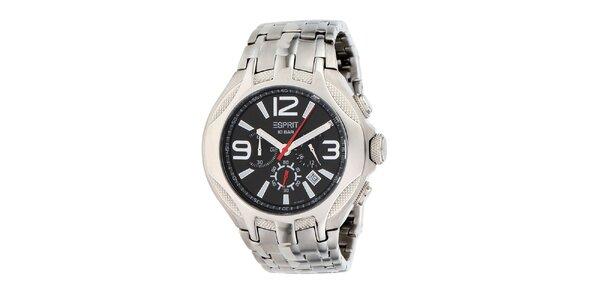 Pánské ocelové hodinky s chronografem Esprit